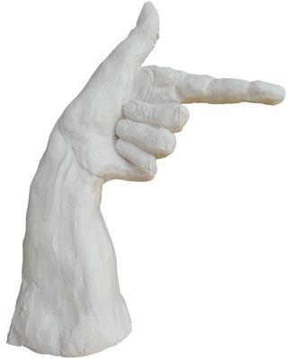"""Hand""  Ton  H=30cm"