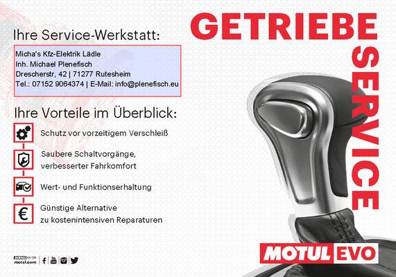 Schalt- und Automatikgetriebe-Reparatur durch unseren Getriebeservice in Rutesheim nahe Stuttgart