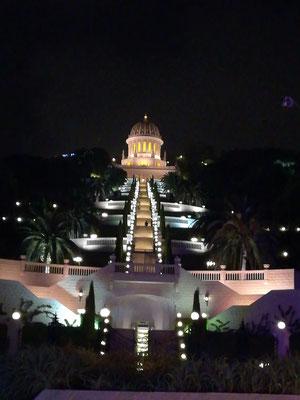 Der Tempel der Bahai, Haifa Wahrzeichen
