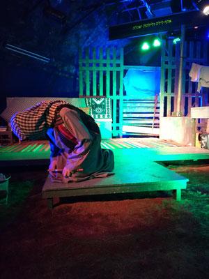 Theater von einer Beduinen - Gruppe aus Rahat