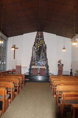 Sankt Johannes der Täufer in Odenhausen - Innenansicht