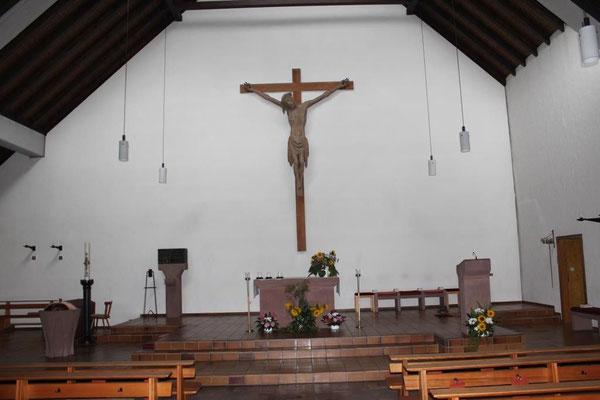 Sankt Raphael in Wißmar - Innenansicht