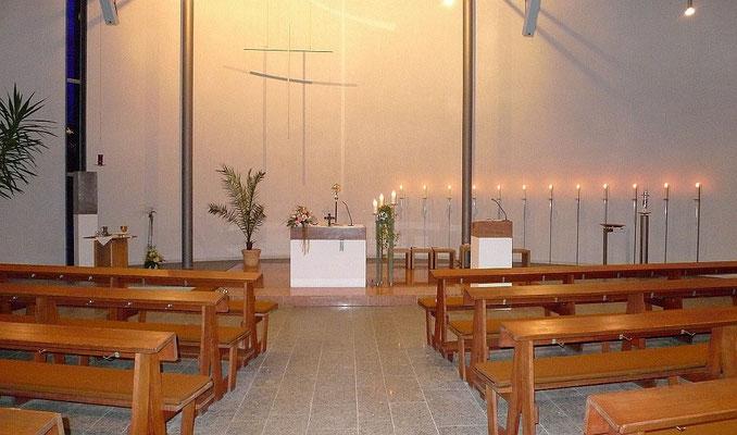 Sankt Anna in Biebertal - Innenansicht