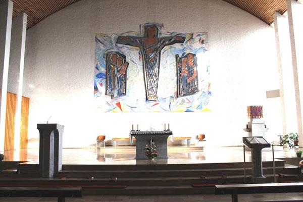 Christ-König in Aßlar - Innenansicht