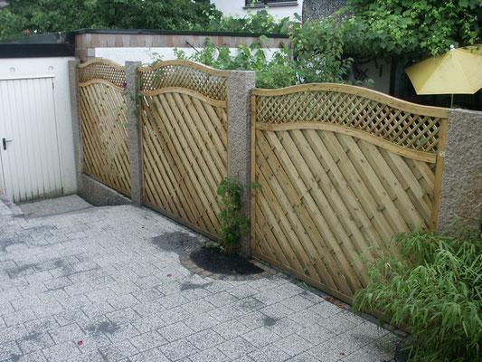 Privatgarten nachher