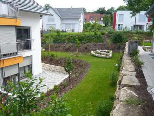 Privatgarten nacher
