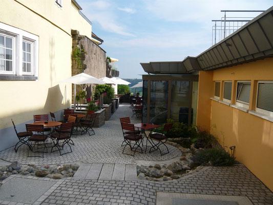 Hotel Krone in Langenburg nacher