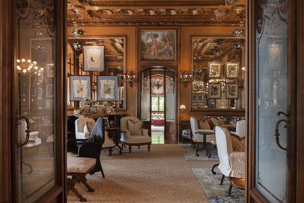 Salon © Villa Feltrinelli