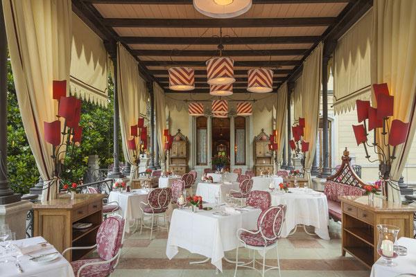 Villa terrace Pergola © Villa Feltrinelli