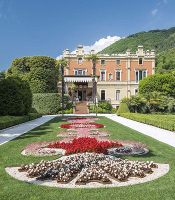 Villa Italian garden © Villa Feltrinelli