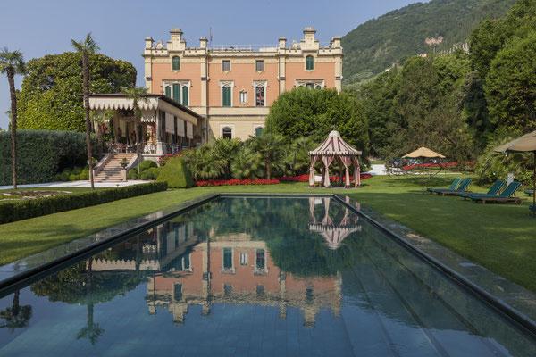 Villa Pool © Villa Feltrinelli