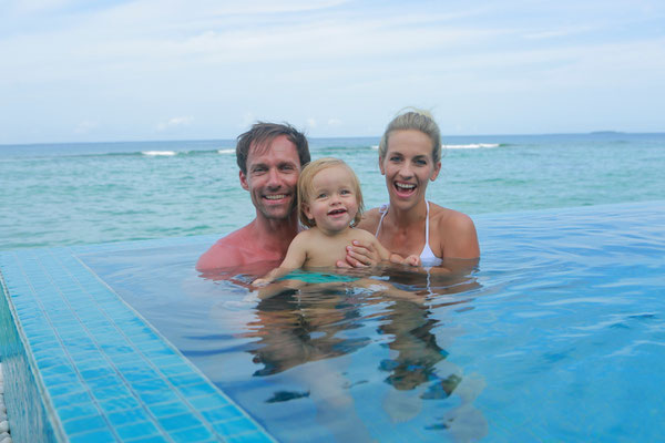 Sven Hannawald Honeymoon at Hideaway Beach Resort & Spa, Maldives