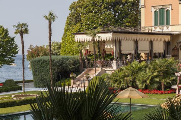 Terrace © Villa Feltrinelli