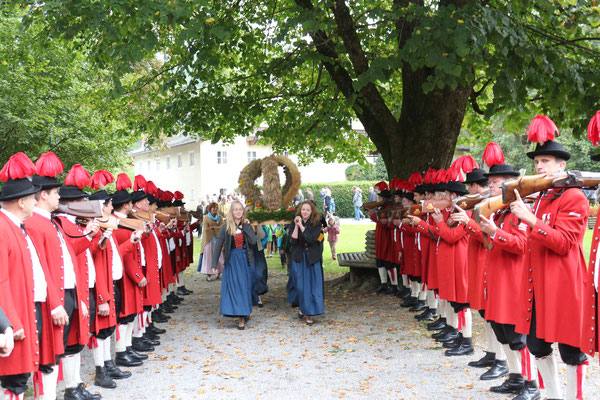 Erntedankfest in St. Jakob