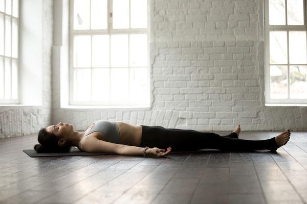 Yoga Atmung gegen Nervosität