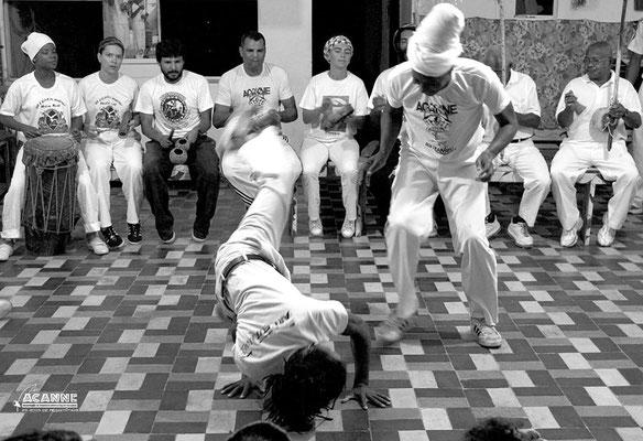 Gatinho Angola na academia de Mestre Rene (Paulo dos Anjos)
