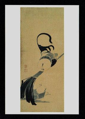 鶴図屛風(六扇)