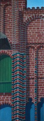 <b>Lüneburg 18</b><br>Öl/Leinwand | 2006 | 100 x 36 cm<br><small>(Privatbesitz)