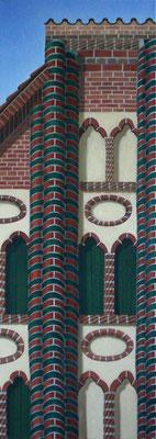 <b>Lüneburg 29</b><br>Öl/Leinwand | 2006 | 100 x 36 cm<br><small>(Privatbesitz)