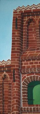 <b>Lüneburg 16</b><br>Öl/Leinwand | 2003 | 100 x 36 cm<br><small>(Privatbesitz)