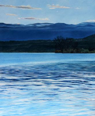 <b>Lago di Bolsena III</b><br>Öl/Leinwand | 2018 | 115 x 95 cm