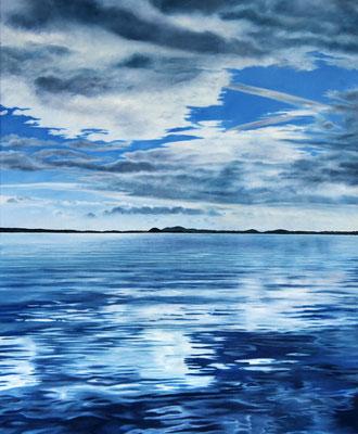 <b>Lago di Bolsena I</b><br>Öl/Leinwand | 2018 | 115 x 95 cm