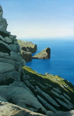 <b>Morro de Sa Vaca II</b><br>Öl/Leinwand | 2002 | 140 x 90 cm