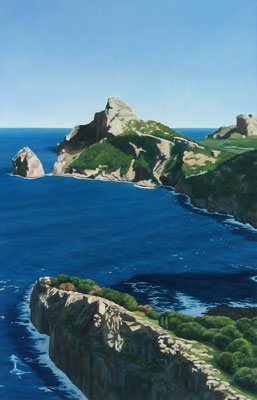 <b>Cap de Formentor</b><br>Öl/Leinwand | 2001 | 140 x 90 cm