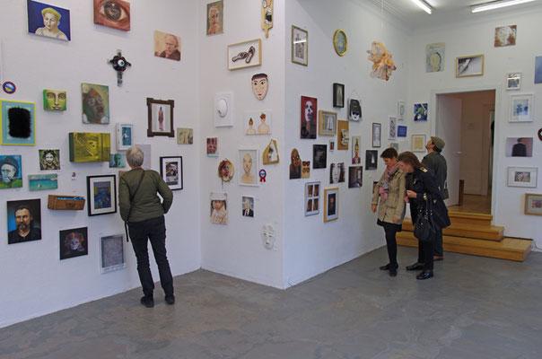 Und die Wände schauen zurück | Galerie plan.d. 2019 © Marcus Schmitz
