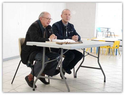 Philippe Roudier et Laurent Coste
