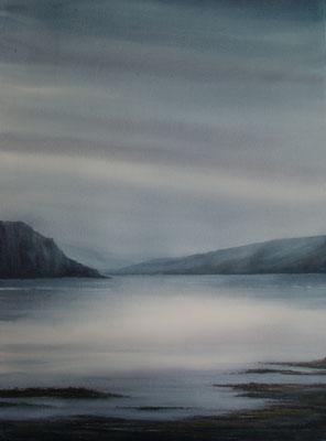 Brume sur le Loch