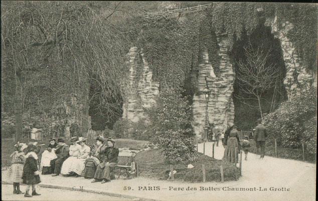 Années 1900 La grotte