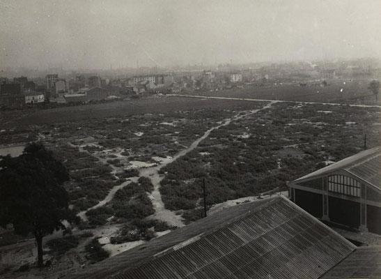 Zone de Saint-Ouen après sa démolition - 1943 - Ville de Paris - BHdV - Roger-Viollet
