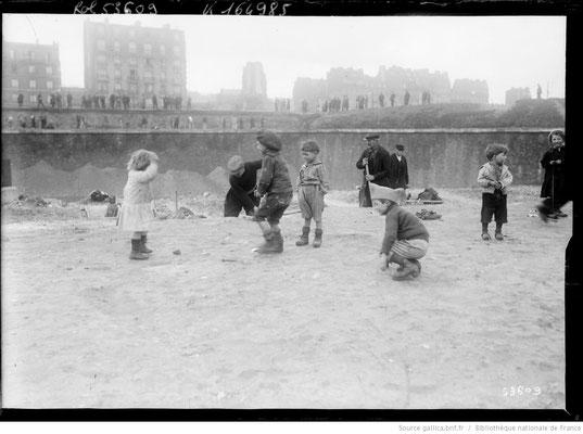 1919 démolition à la porte de Clignancourt