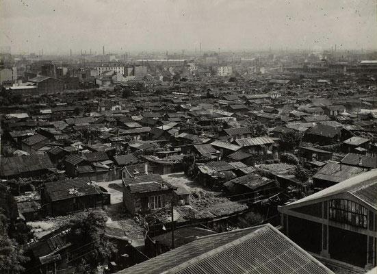 Zone de Saint-Ouen avant sa démolition - 1942 - Ville de Paris - BHdV - Roger-Viollet
