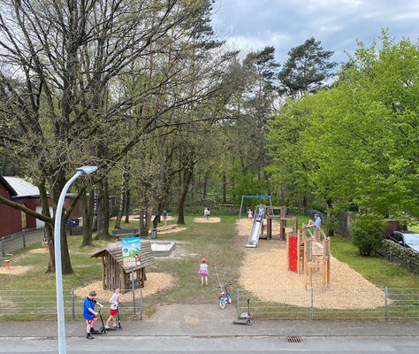 Spielplatz im Sanden