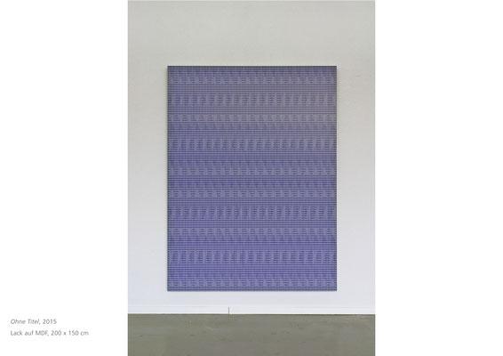 Lack auf MDF, 200x150, 2015, Jean-Claude Houlmann