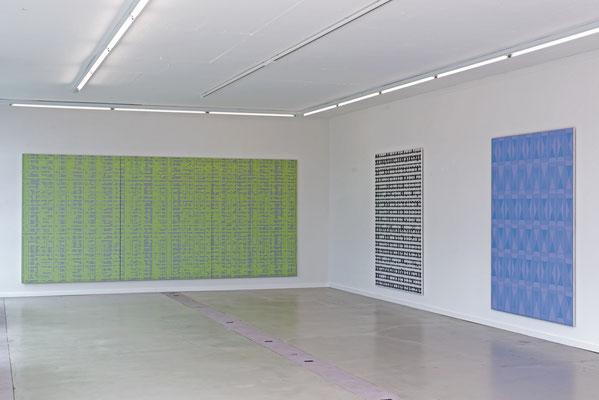 Ausstellungsansicht Kunstraum Florenz Basel, Jean-Claude Houlmann