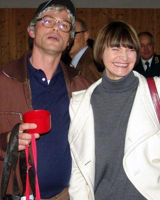Hans Bachmann mit alt BR Calmy-Rey - Oliver Haindl - olivenhain.ch