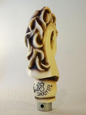 KNIGHT Shift knob [Ivory White] /ナイト・シフトノブ アイボリーホワイト