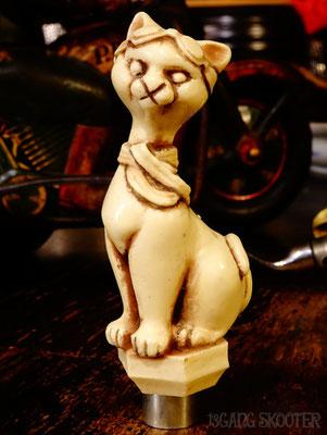 MOTOR CAT Shift knob[Ivory White]/モーターキャットシフトノブ・アイボリー