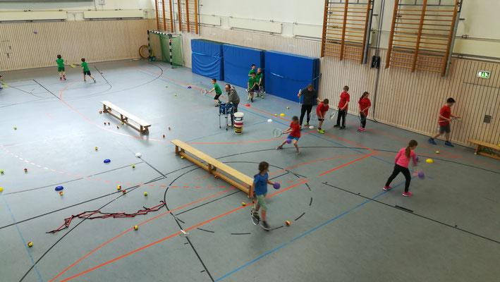 Tennis Workshop mit JUlien