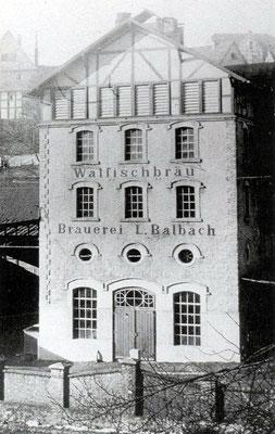 Hauptgebäude um 1930