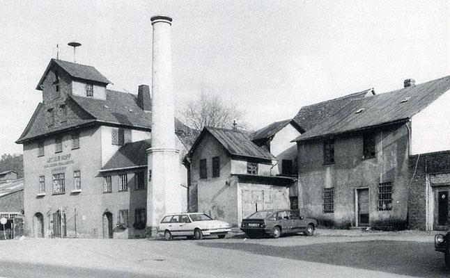 Baugruppe der Audenschmiede am Schlot, um 1994