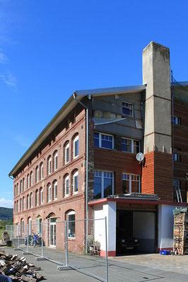 Magazingebäude im Norden des Firmengeländes