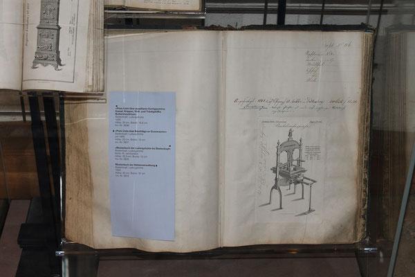 Musterbuch der Ludwigshütte von 1859