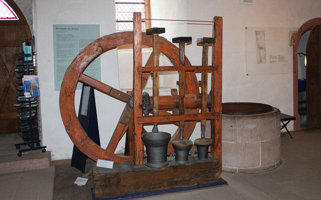 Pochmaschine aus Biedenkopf