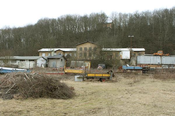 Das Zechenhaus der Grube im März 2012 (Aufnahme: Otto Volk)