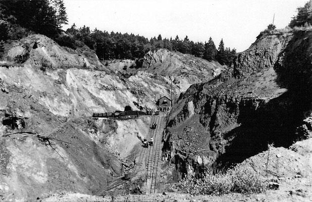 Tagebau Handstein bei Oberscheld, 1926