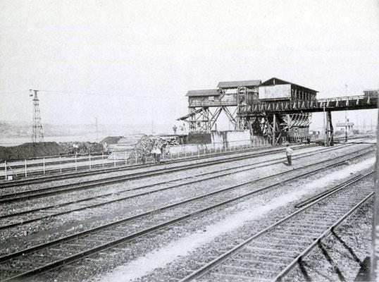 Erzverladeanlage Albshausen, um 1920